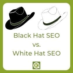 Black Hat SEO - White Hat SEO