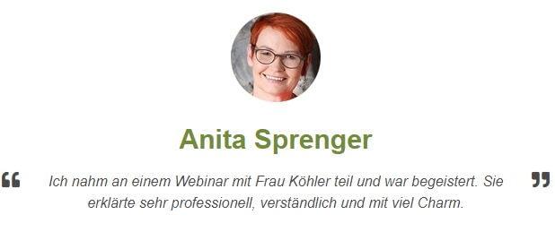Rezension von Anita Sprenger