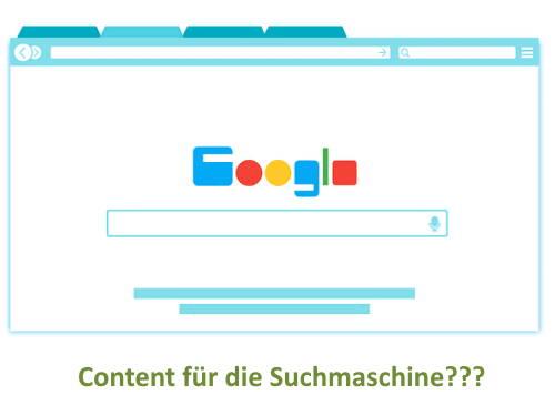 Content für die Suchmaschine