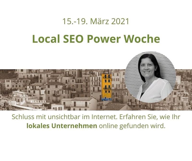 Local SEO Power Woche im März