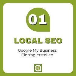 Local SEO Google Eintrag erstellen